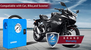 Air compressor for all motorcycle
