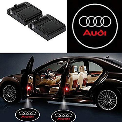 Wireless audi shadow light for car