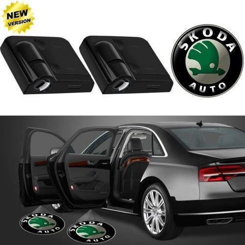 Wireless Skoda shadow light for car