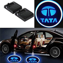 Load image into Gallery viewer, Wireless tata shadow light for car