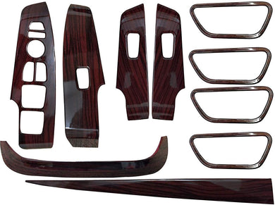 10 Pcs Wooden Interior for Hyundai Verna