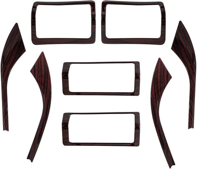 8Pcs Wooden Interior for Mahindra Xuv500