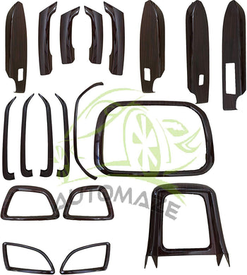19 Pcs Wooden Interior for Maruti Suzuki Vitara Brezza