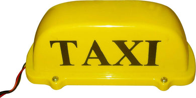 Yellow taxi Light for car