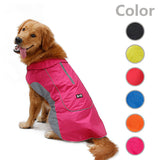 Waterproof Fleece Dog Rain Coat