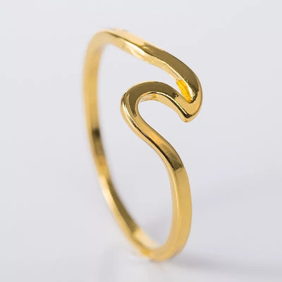 Wave Ring Gold