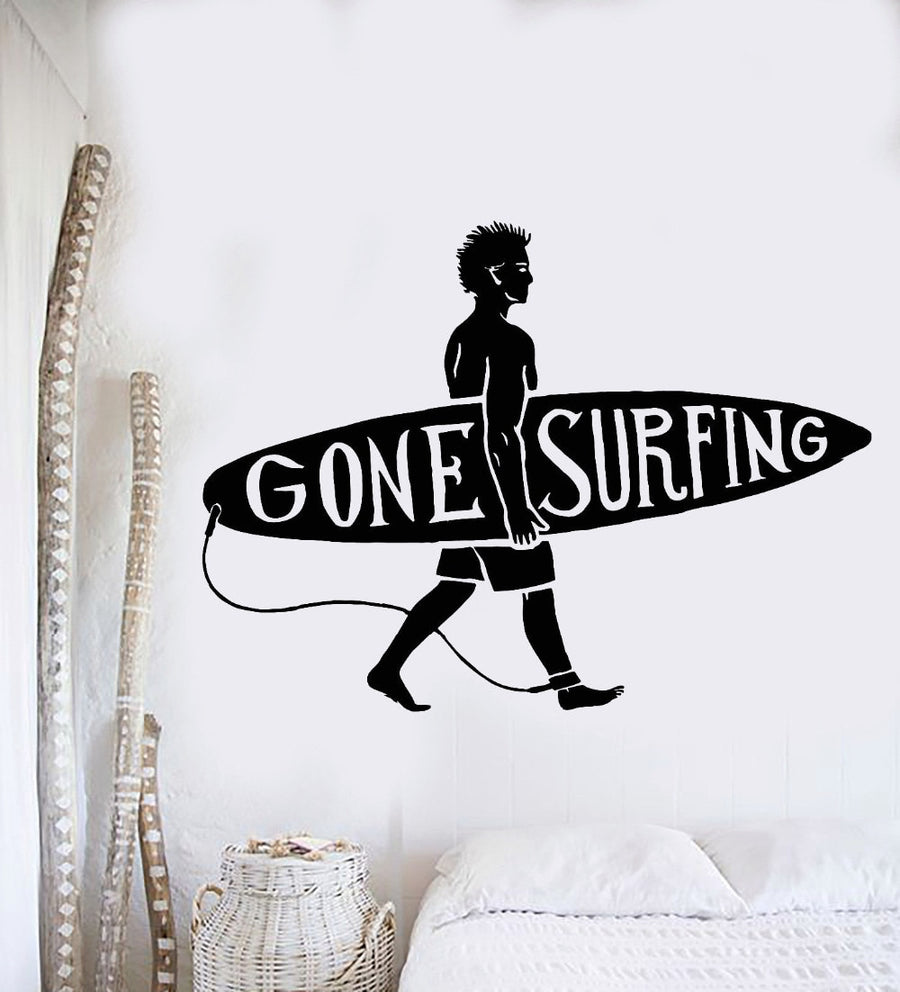 Surfboard Wall Sticker