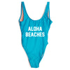 Aloha Swimsuit - Blue