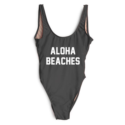 Aloha Swimsuit - Black