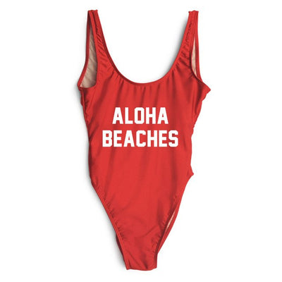 Aloha Swimsuit - Red
