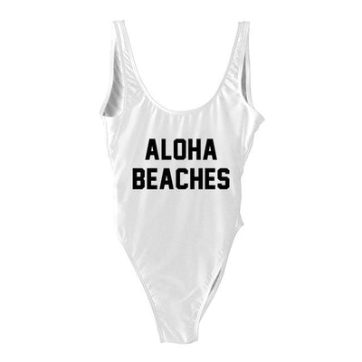 Aloha Swimsuit - White
