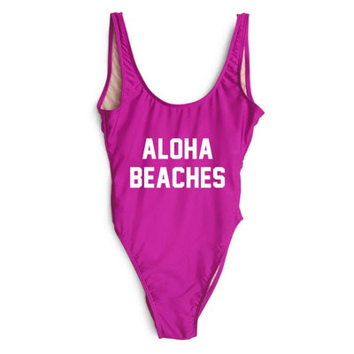 Aloha Swimsuit - Purple