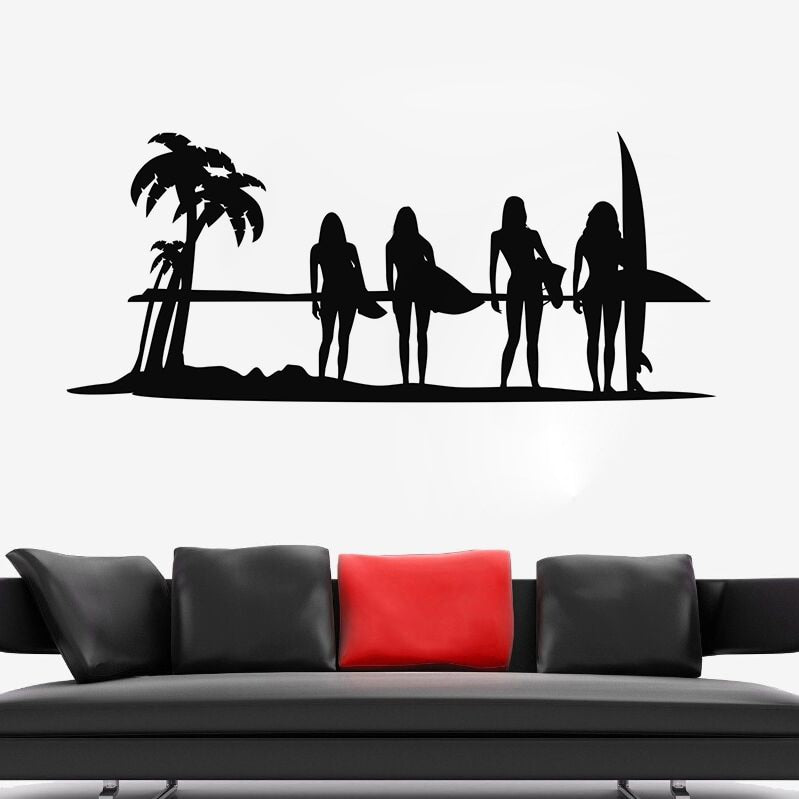 Surf Wall Decal