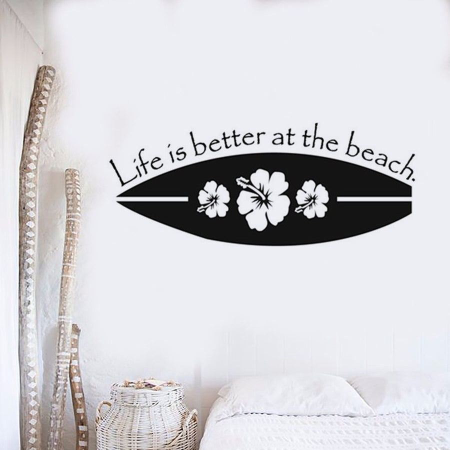 Surfboard Wall Decal