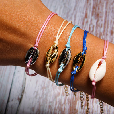 Cowrie Shell Colorful Bracelet