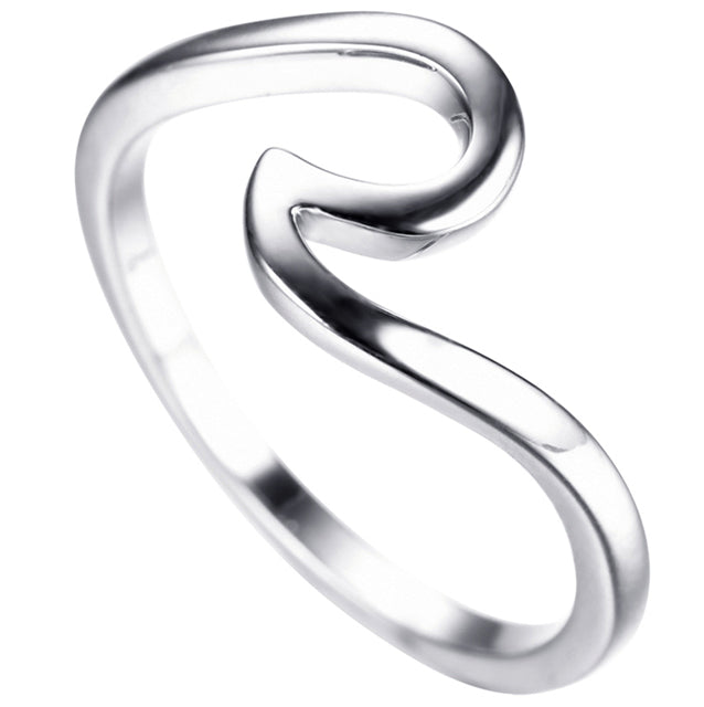 Silver Edition Wave Ring