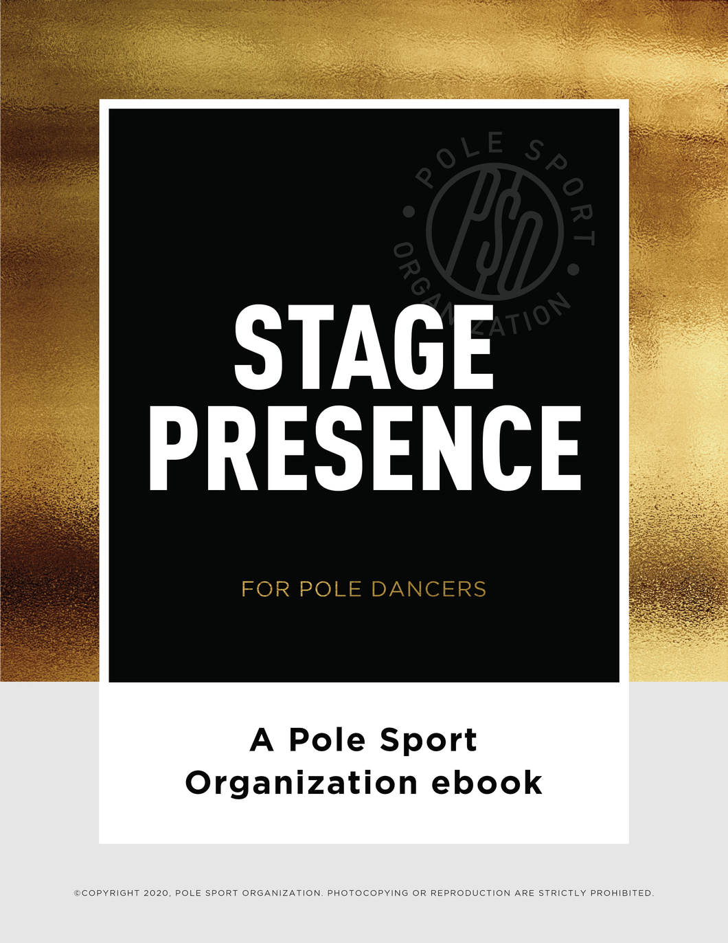 ebook - Stage Presence for Pole Dancers ebook