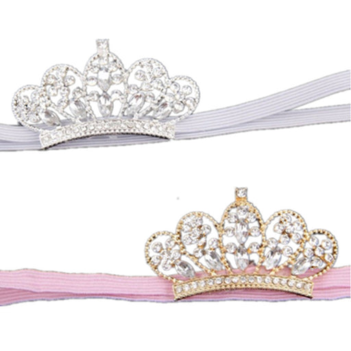 Toddler Jewelry Crystal Crown Headbands
