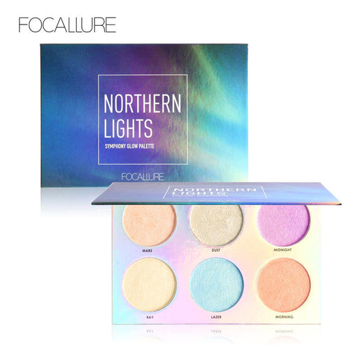 FOCALLURE Northern Lights Symphony Glow Palette