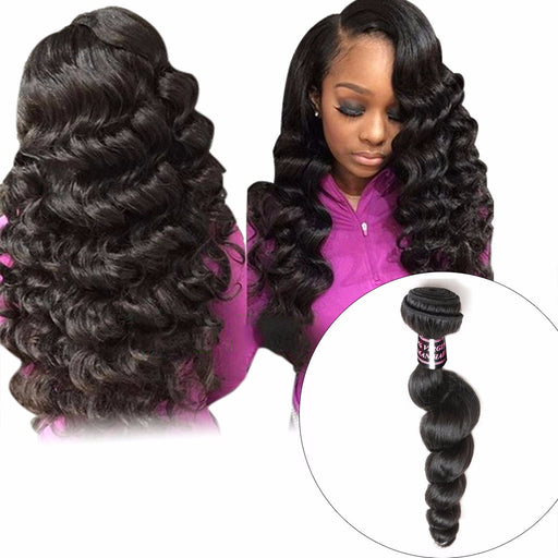 Peruvian Loose Wave Hair Weave Bundle