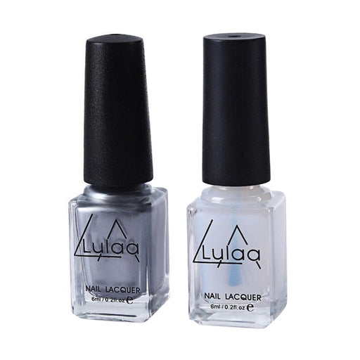 2Pcs Nail Polish Set