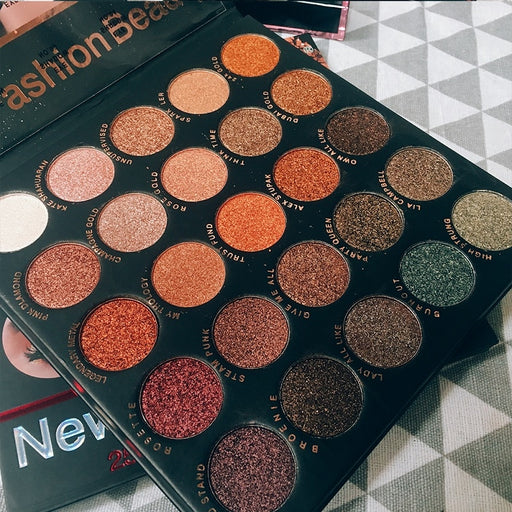 25 Color EyeShadow Glitter Palette