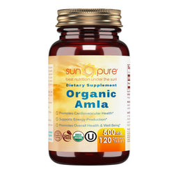 Sun Pure Organic Amla 500 Mg 120 Tablets