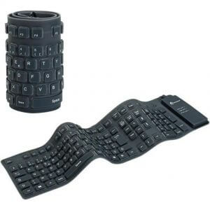 Clavier Bluetooth Flexible Silicone