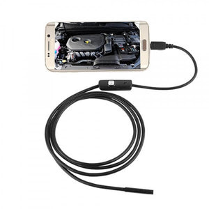 Endoscope USB Android  HD 720P, 8 LED 8mm, IP67 étanche