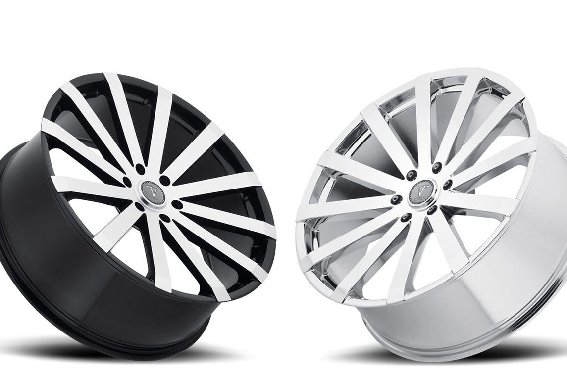 Introduce Velocity VW12 Black & Chrome Wheels