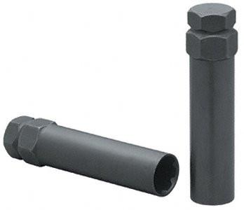 Passenger Spline Lug Nut Key Black C7301