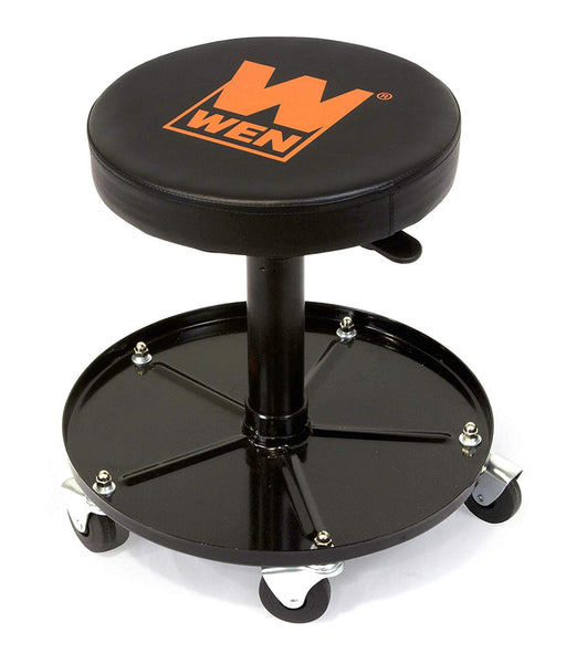 WEN 73012 300 lb Capacity Pneumatic Rolling Mechanic Stool