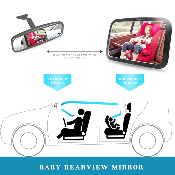 Shynerk Baby Car Mirror
