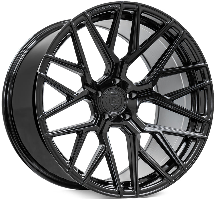 "20"" Rohana Wheels RFX10 Gloss Black"