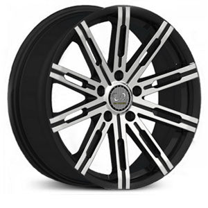 "18"" 20"" U2 30 Wheels Black Machined"