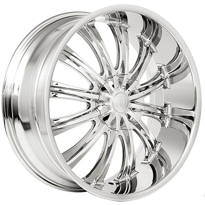 "17"" Borghini B15 Wheels Chrome"