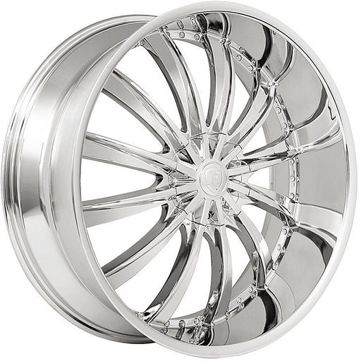 "22"" Borghini B19 Wheels Chrome"