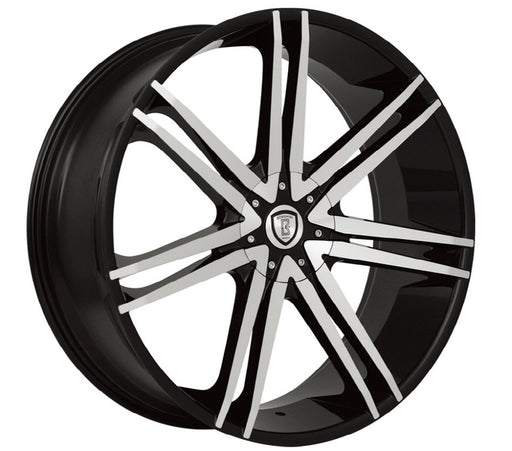 borghini wheels b20 black machined
