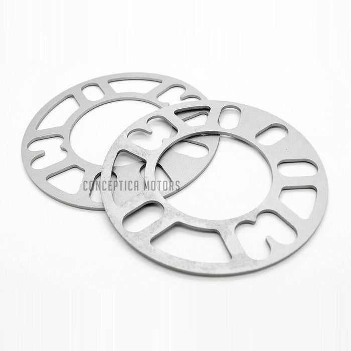 "4 Lug & 5 Lug Wheel Multi spacer 100mm Through 120mm (0.5"", 12mm)"