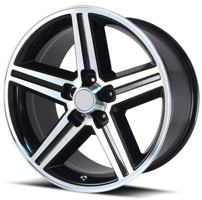 "24"" iroc rims wheels black machine"