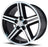 "17"" iroc rims wheels black machine"