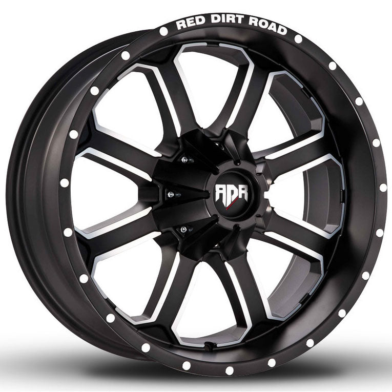 rdr rd01 wheels black machined