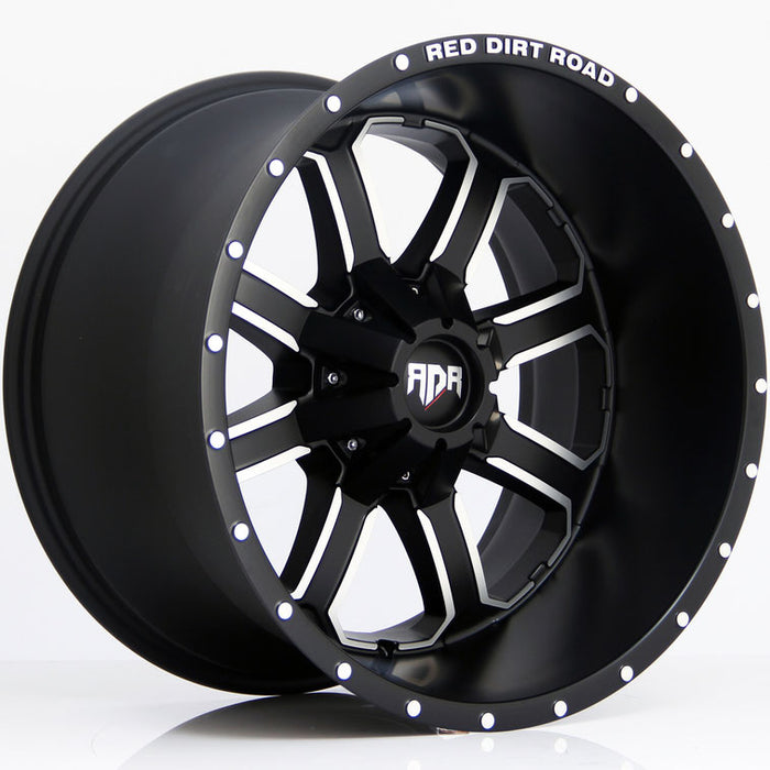 "18"" RDR RD01 Wheels Black Machined"