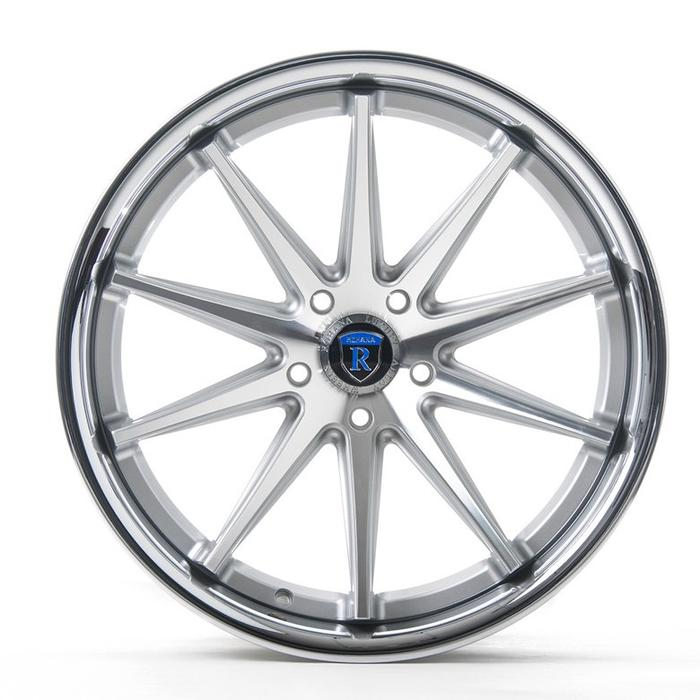 "20"" Rohana RC10 Wheels Machine Silver Chrome Lip"