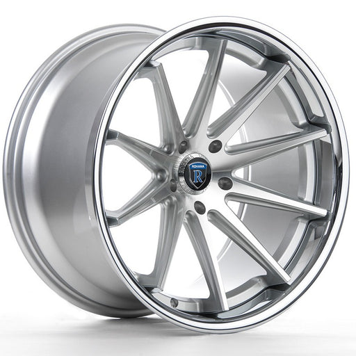 rohana rc10 wheels silver