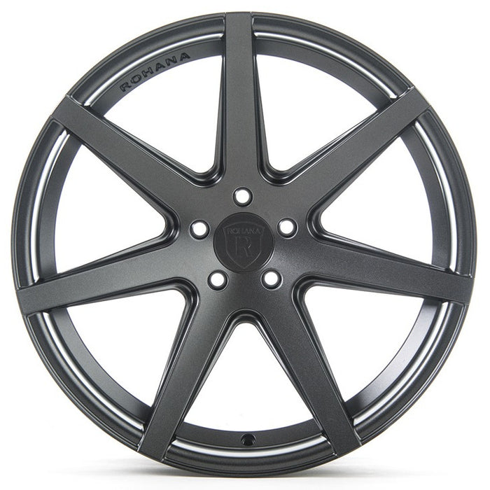 "20"" Rohana RC7 Wheels Matte Graphite"