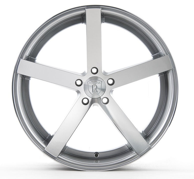 "20"" Rohana RC22 Wheels Machine Silver"