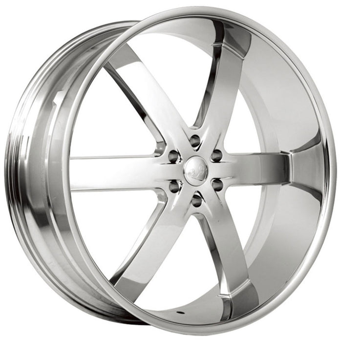 u2 55 wheels chrome 6 lug