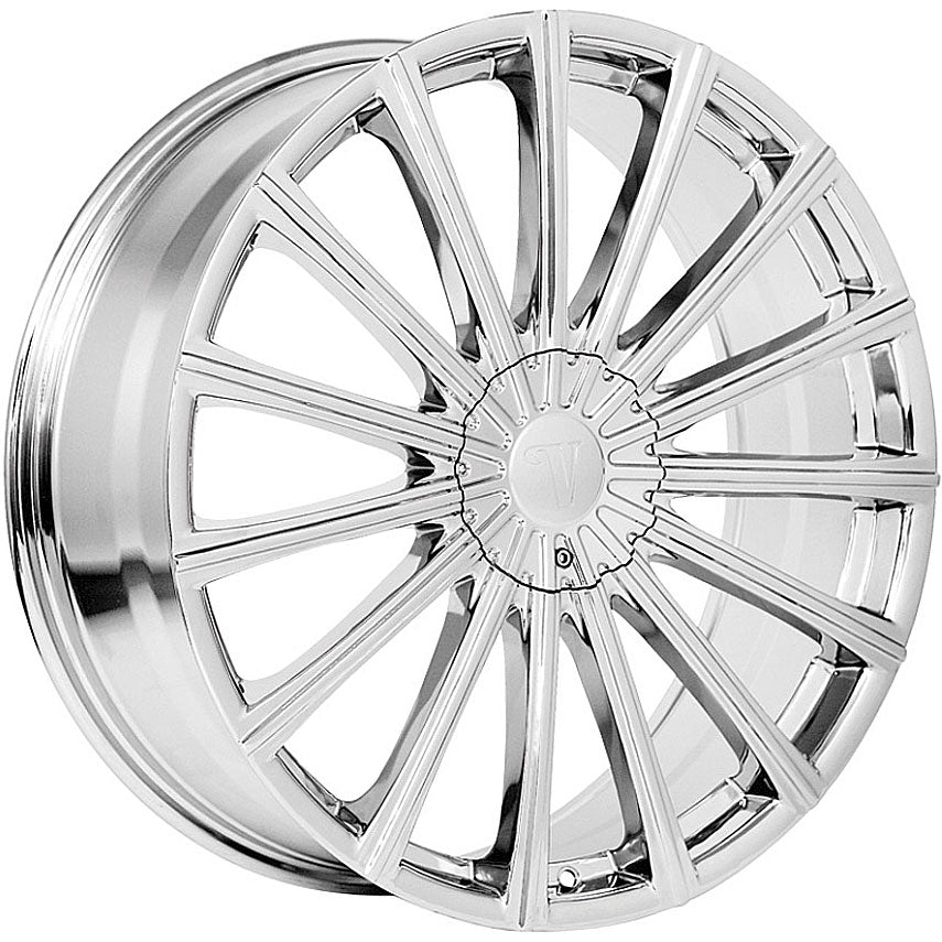 "24"" Velocity VW10 Wheels Chrome"