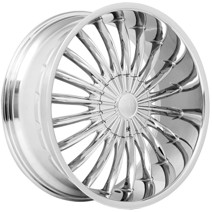 "22"" Velocity VW11 Wheels Chrome"